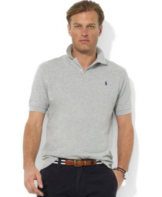 Polo Ralph Lauren Men's Classic Fit Cotton Mesh Polo In Andover Heather