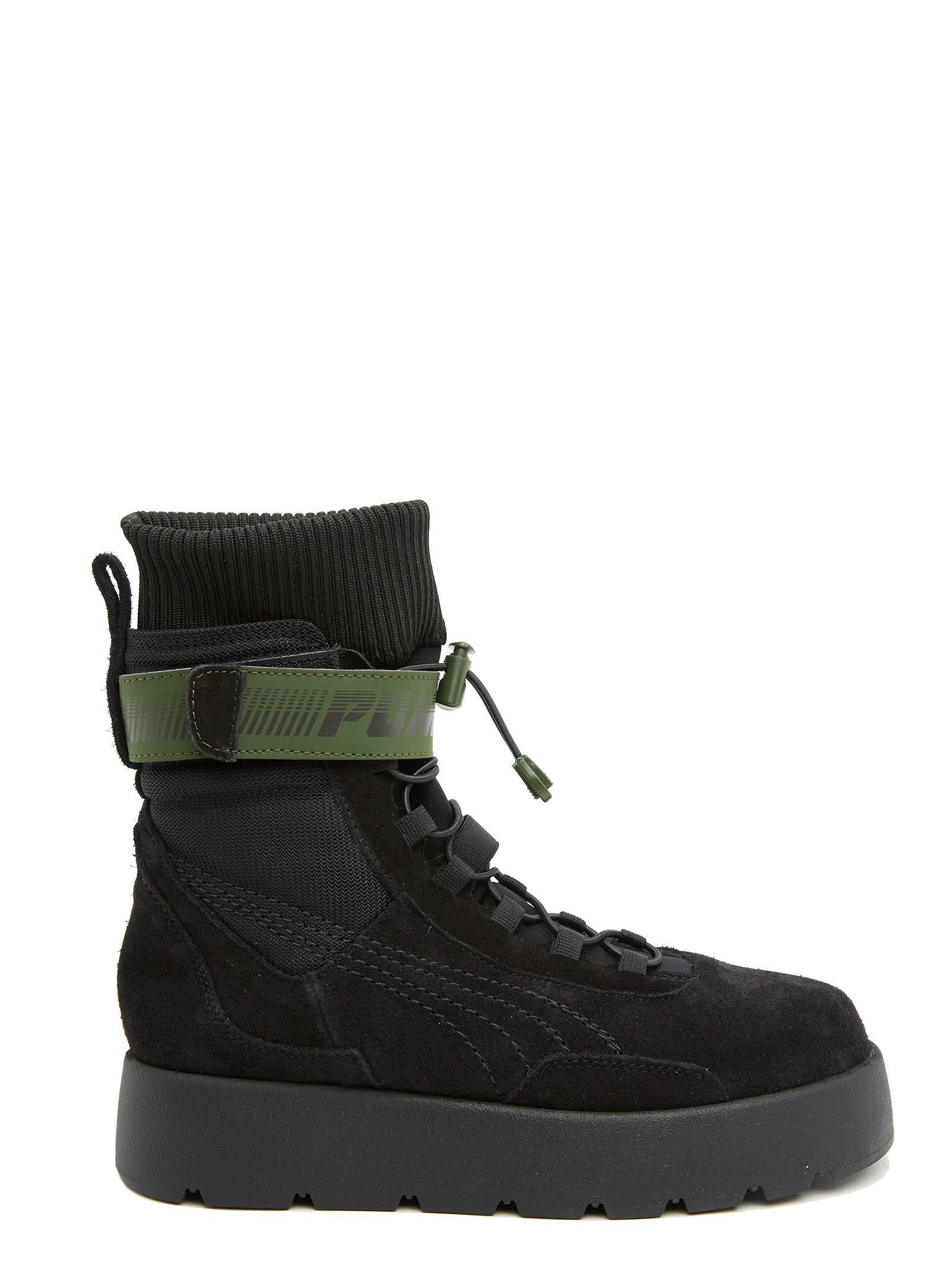 brand new 41bf9 1fe7d Fenty Puma By Rihanna Scuba Shoes in Black
