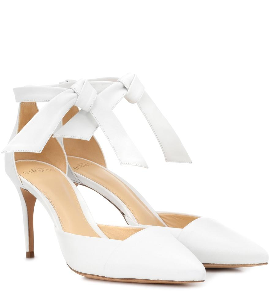 Alexandre Birman Exclusive To Mytheresa.Com - Savina Leather Pumps In White