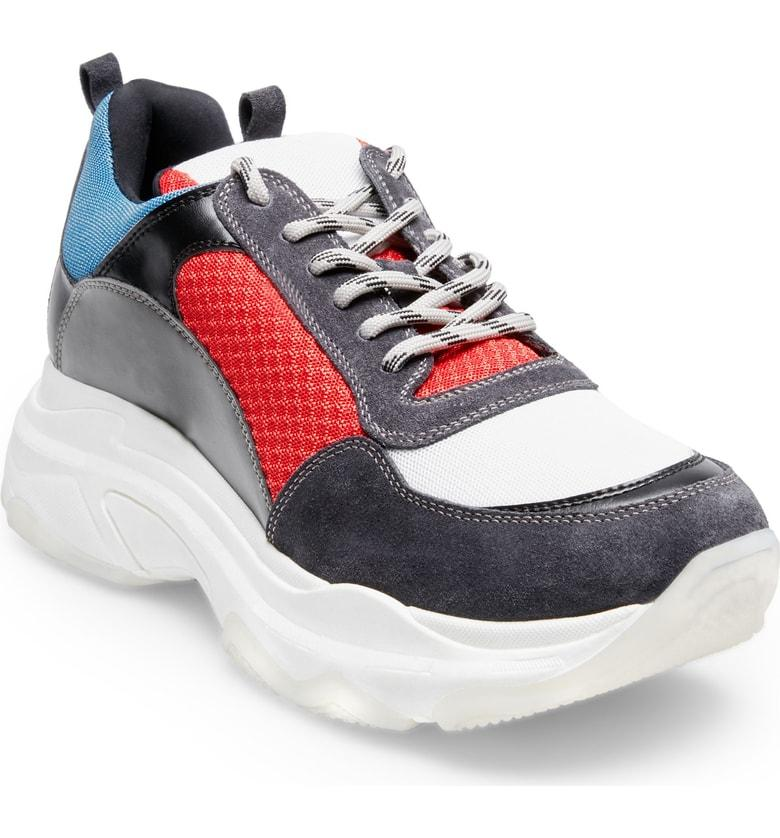 4d66c82ae59 Steve Madden Russell Platform Sneaker In Multi Leather