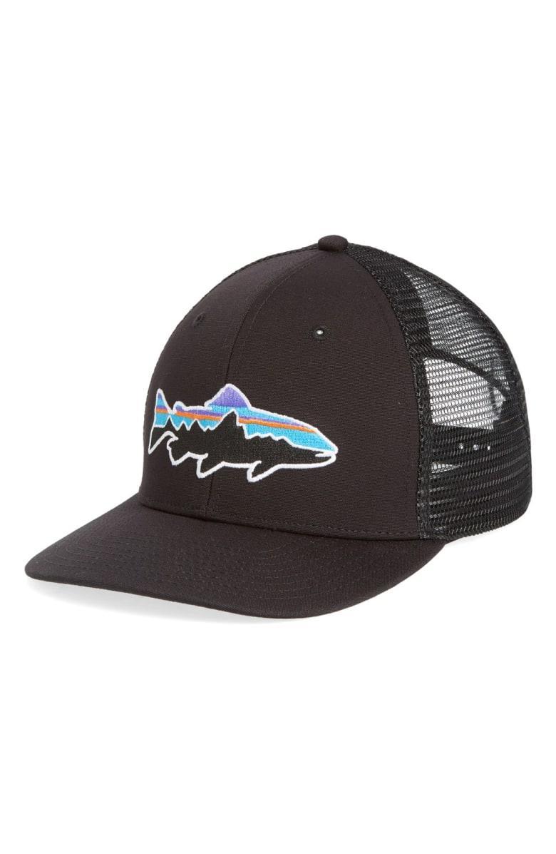 cd9c147e7 Fitz Roy Trout Trucker Hat - Black