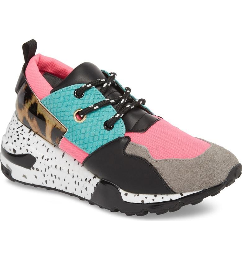 43361d6ac6e Steve Madden Cliff Sneaker In Bright Multi