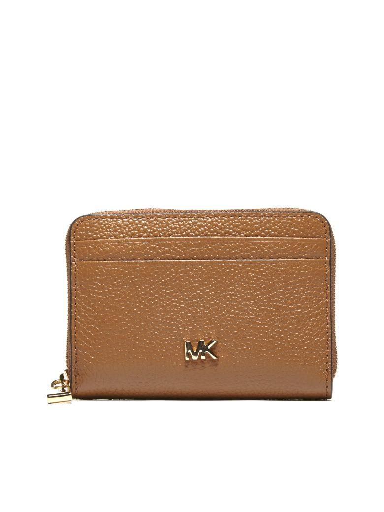 e6a0a3b6f13871 Michael Michael Kors Mercer Small Zip Around Wallet In Cuoio | ModeSens
