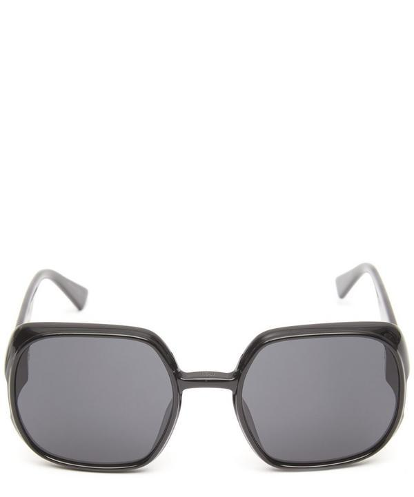 4ff0f57af654 Dior Nuance Square-Frame Sunglasses In Black