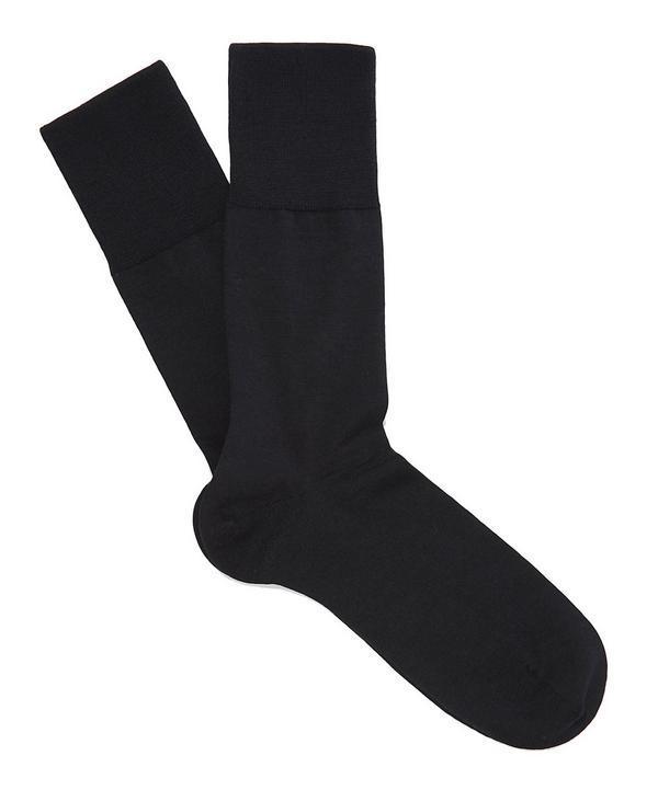 Falke Airport Socks In Black