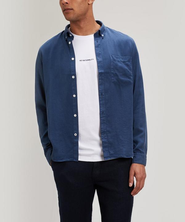 Nn07 Falk Shirt In Blue