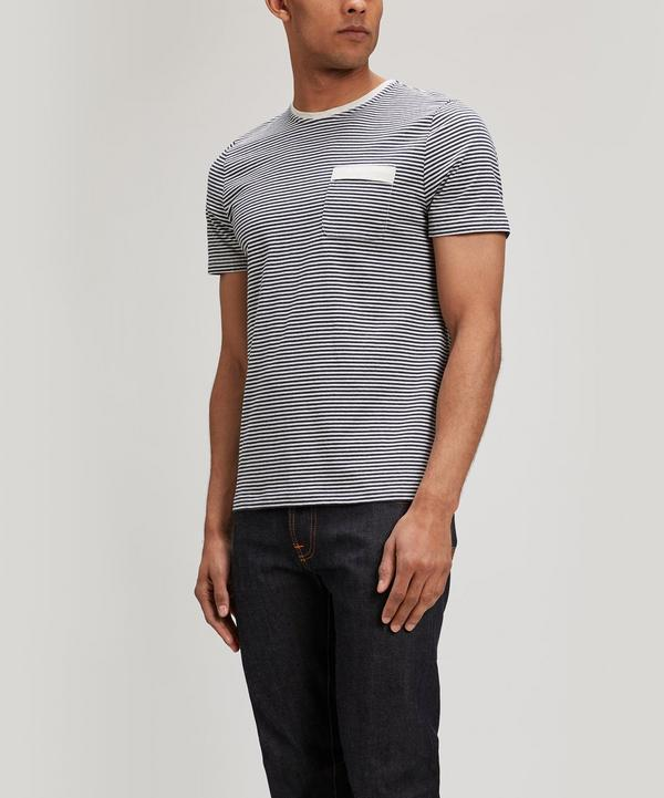 Oliver Spencer Envelope T-shirt In Navy