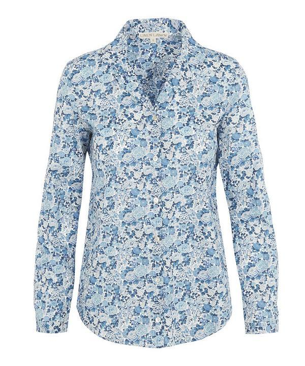 2aceec7e3cc0a7 Liberty London Elysian Day Alex Womens Shirt In Blue | ModeSens
