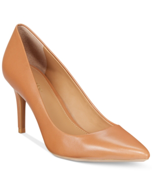 1aaec4a129cf6 Women's Gayle Pointed-Toe Pumps Women's Shoes in Caramel Kid