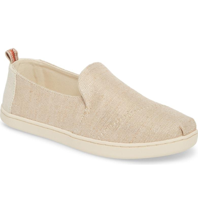 6add70e6b9e A loafer-inspired silhouette amplifies the casual-chic style of a breezy