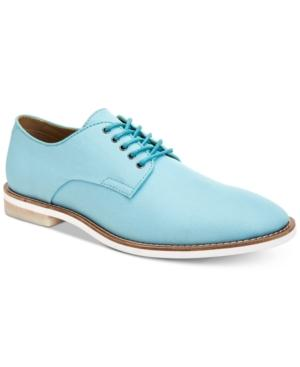 54f849c3253 Calvin Klein Men s Aggussie Nylon Oxfords Men s Shoes In Cadet Blue ...