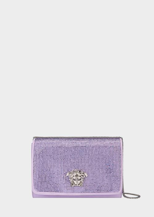 43b09a3db07e Crystal embellished evening bag from the Palazzo line with chain shoulder  strap