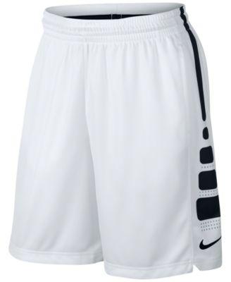 Nike Men's Dri-fit Fastbreak Basketball Shorts In White/black