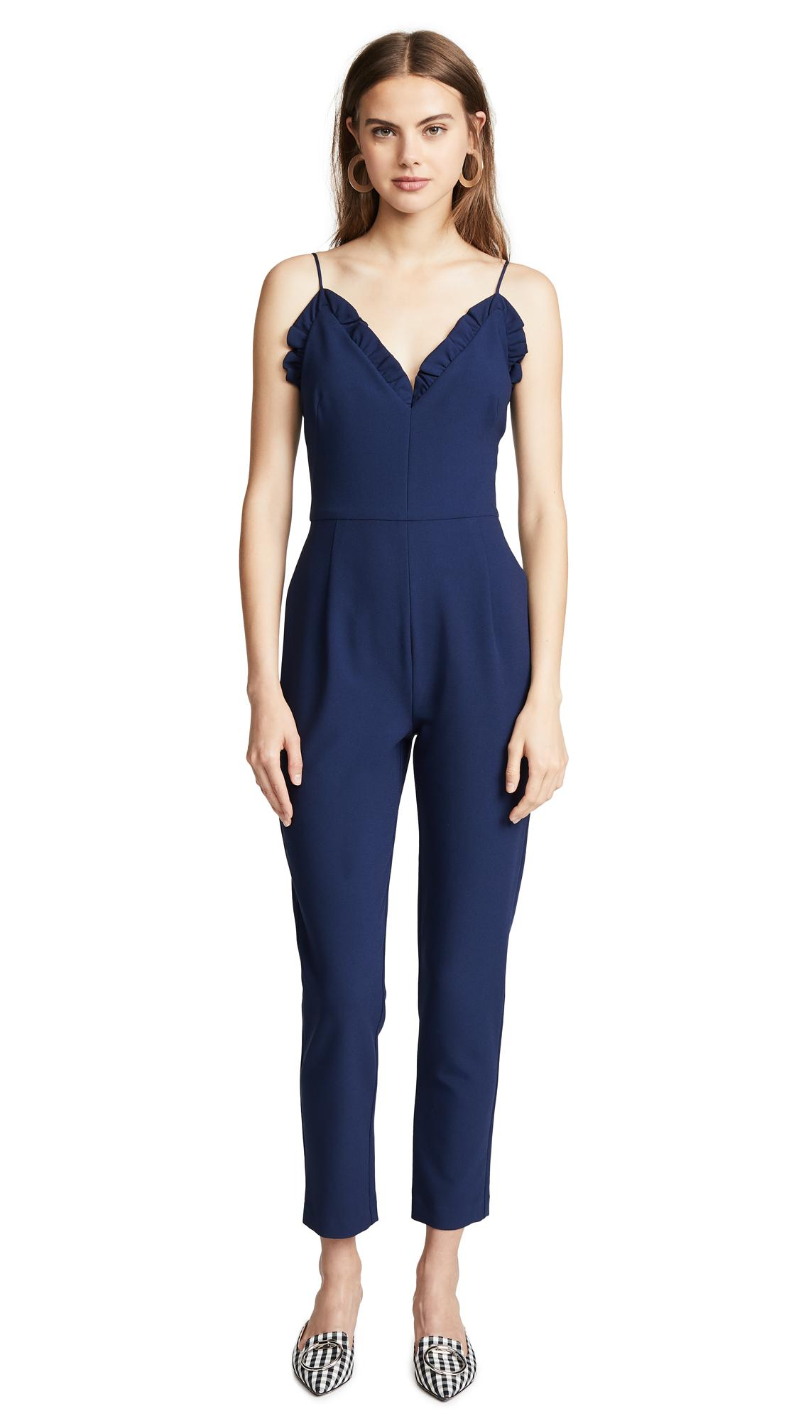 18d40b42c2ff Black Halo Biscayne Jumpsuit In Pacific Blue