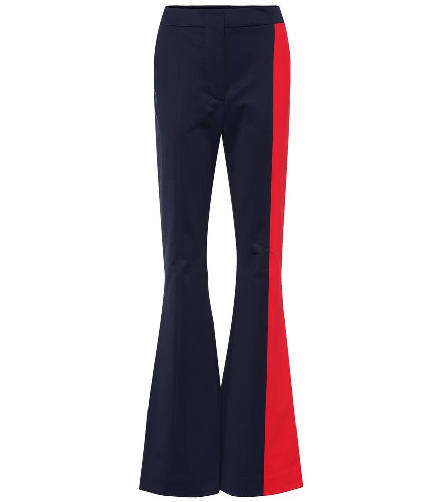 Marni Flared Pants In Blue