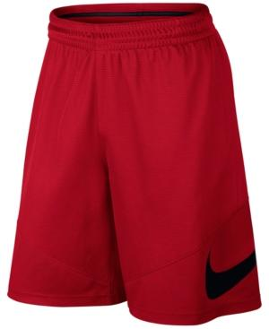 "Nike Men's 9"" Hbr Dri-fit Basketball Shorts In University Red"