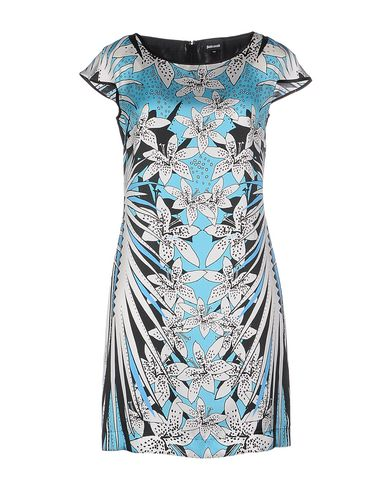 Just Cavalli Short Dress In Sky Blue