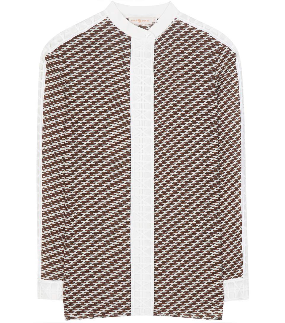 Tory Burch Patterned Shirts & Blouses In Arlor Raveeea