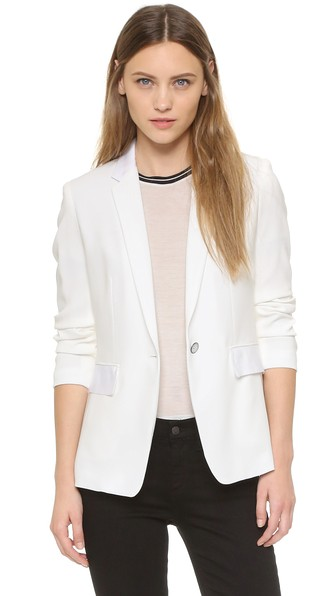 Rag & Bone Windsor Blazer In White
