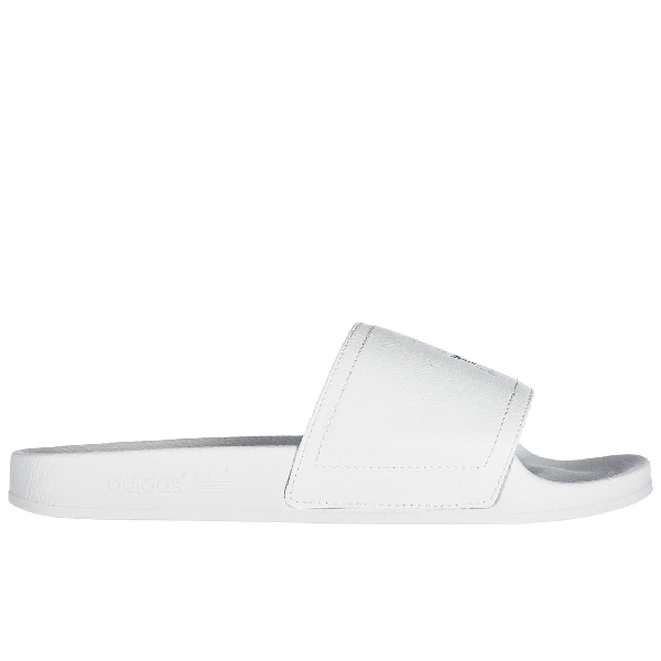 33629a32e Y-3 Men s Slippers Sandals Rubber Adilette In White