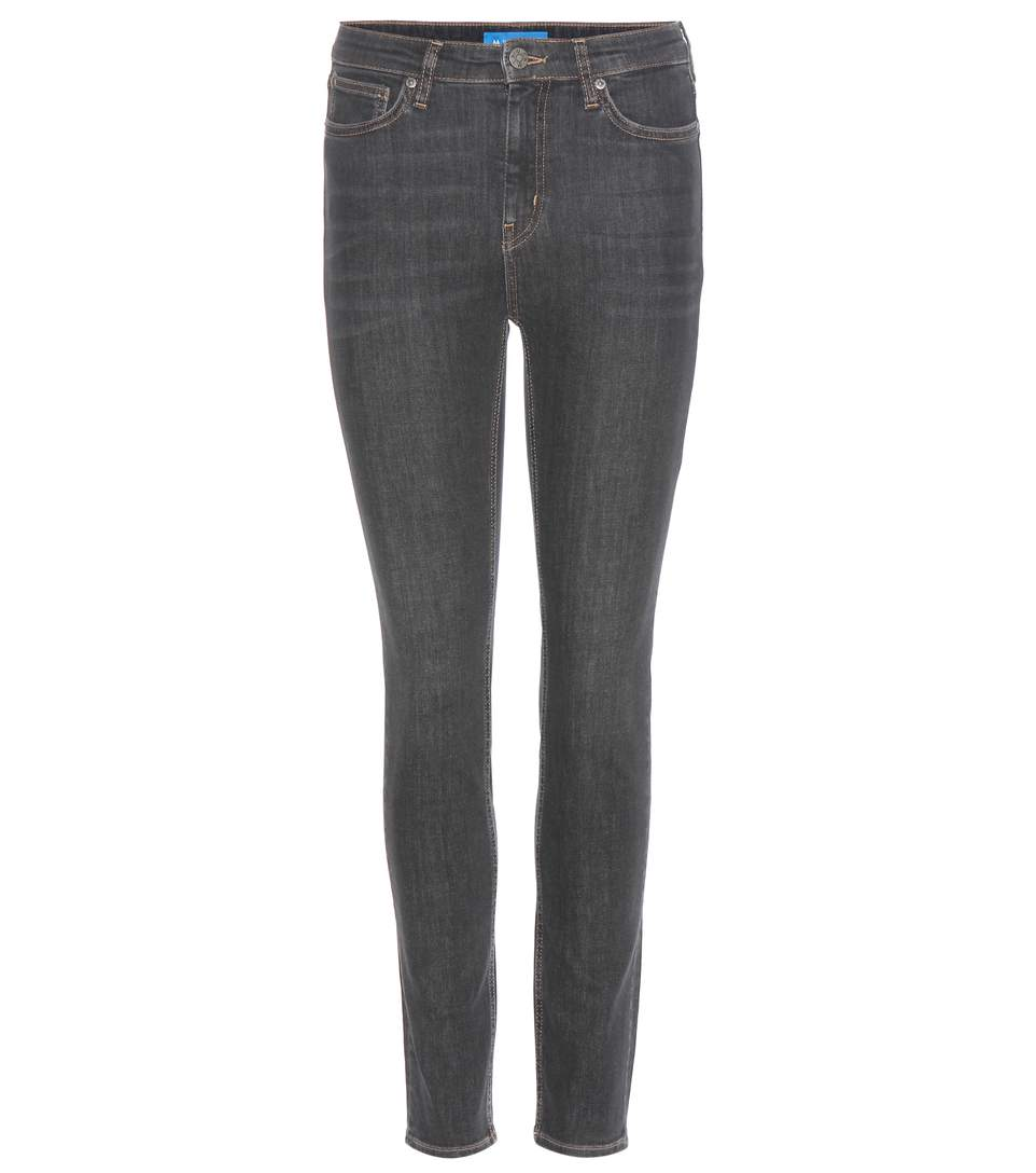 M.i.h Jeans Bridge High-rise Skinny Jeans In Gray