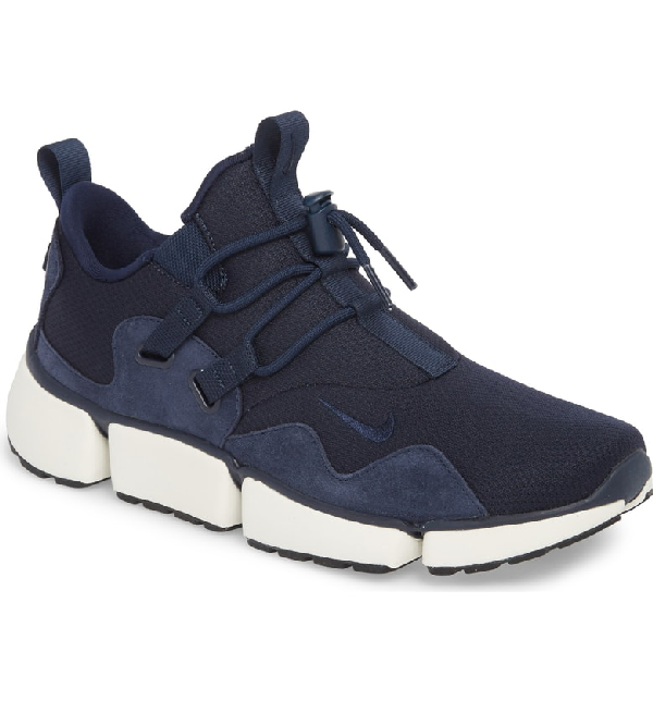 90f1cc60e820 Nike Pocketknife Dm Se Sneaker In Obsidian  Sail  Black