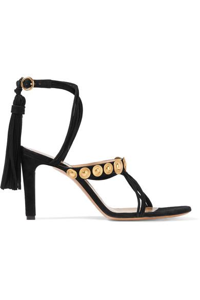 ChloÉ Embellished Suede Sandals