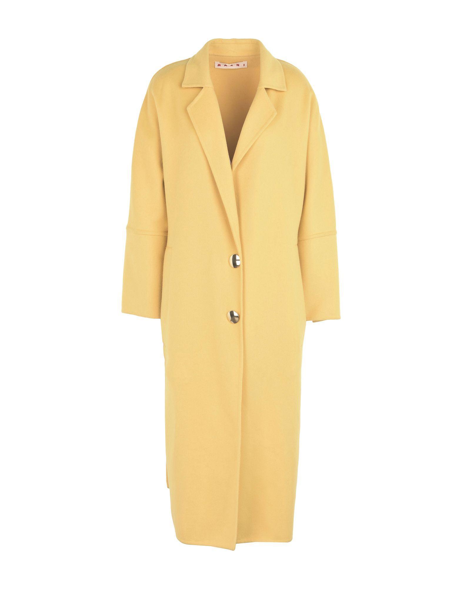 Marni Coat In Yellow