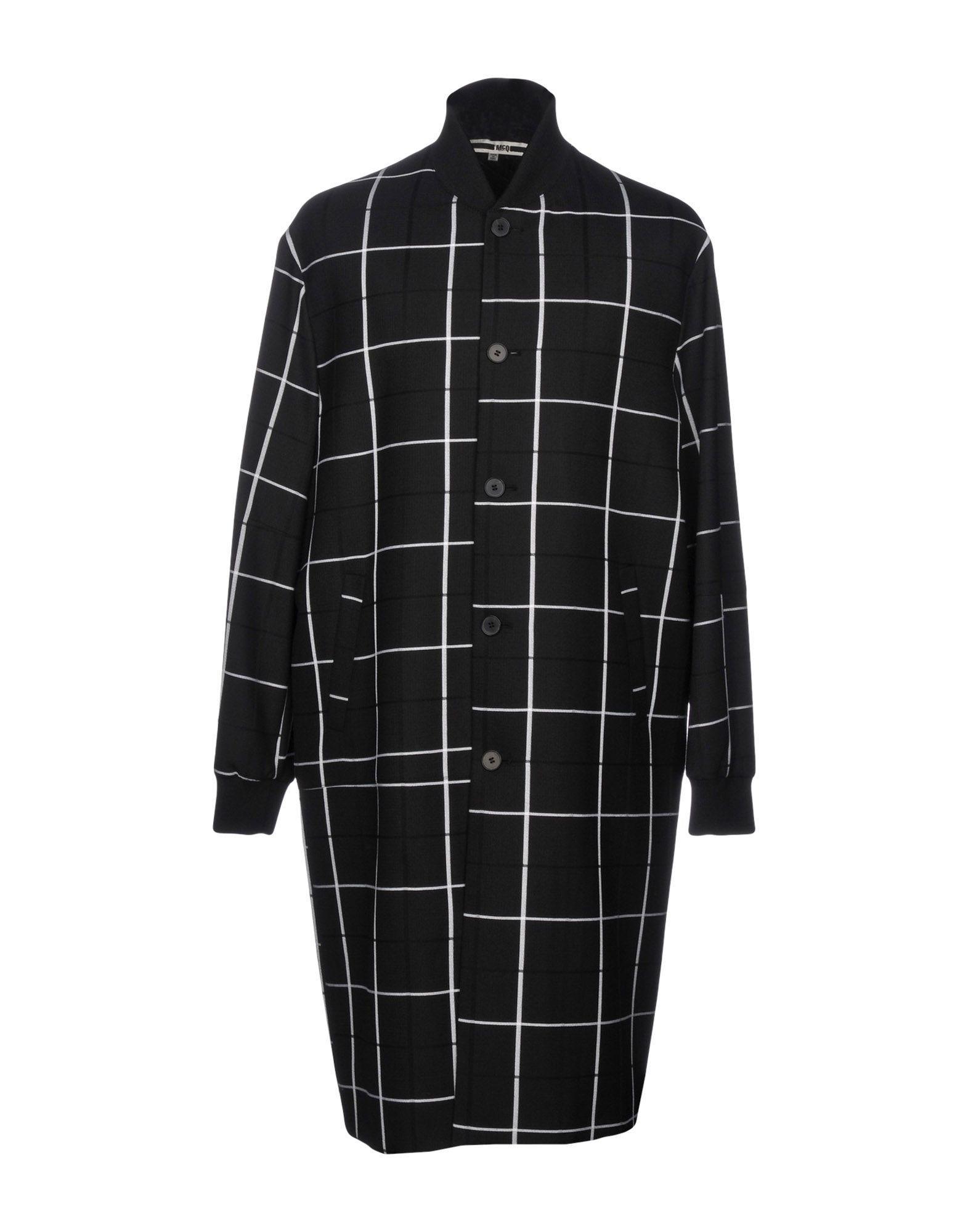 Mcq By Alexander Mcqueen Full-Length Jacket In Black