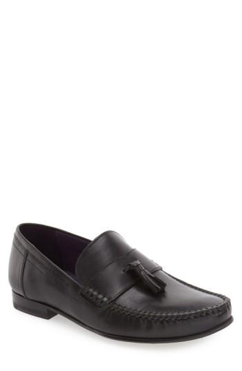Ted Baker 'simbaa' Tassel Loafer (men) In Black