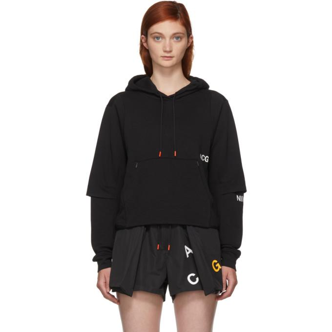 save off 41485 4e255 Nike Lab Black Nrg Acg Pullover Hoodie In 010 Black