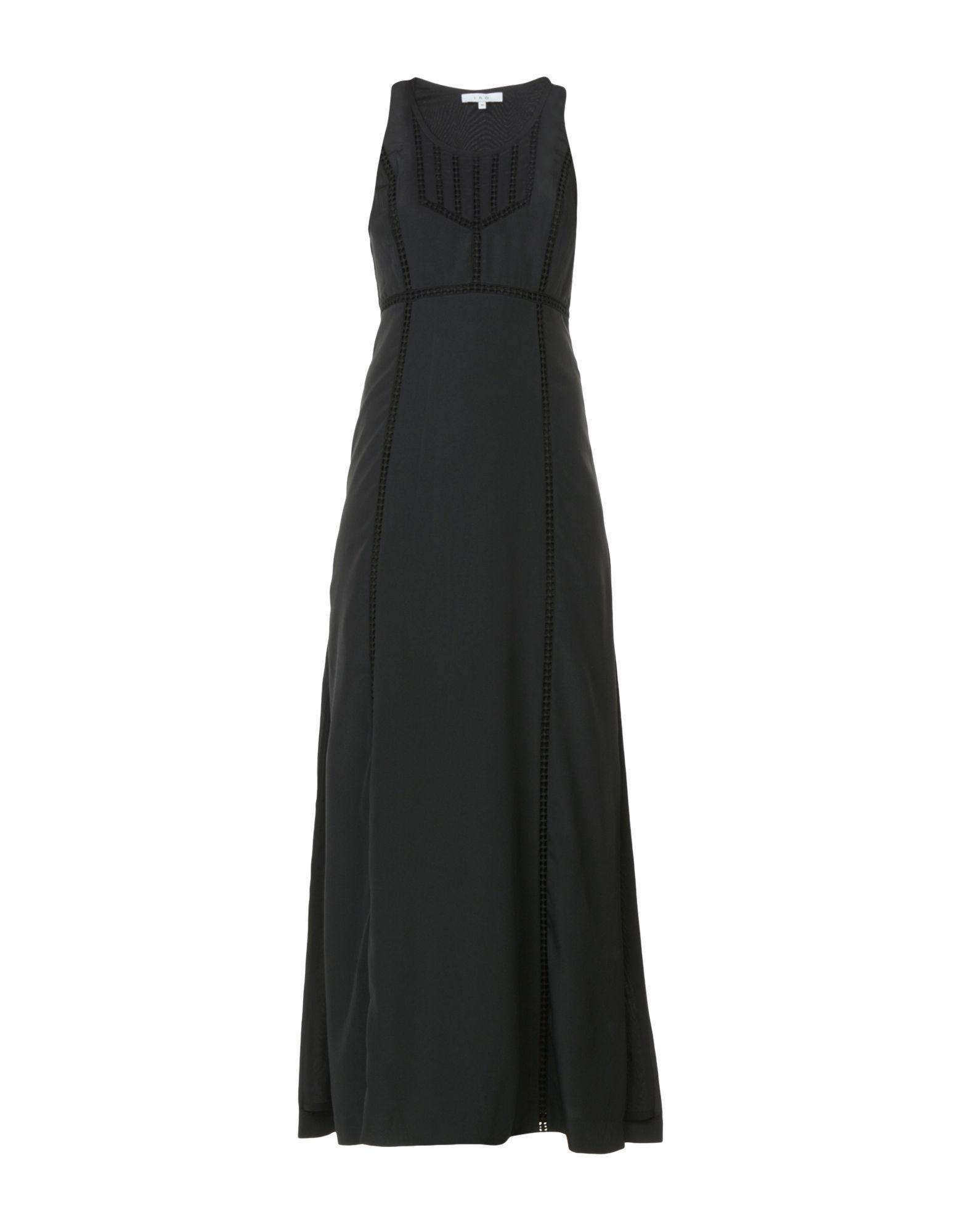 Iro Long Dress In Black