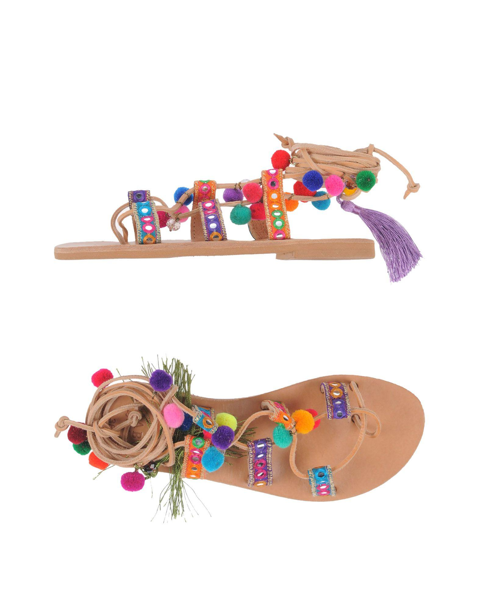Mabu By Maria Bk Flip Flops In Purple