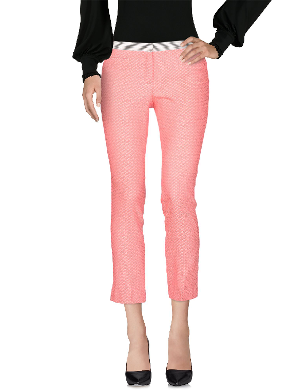 Teresa Dainelli Cropped Pants & Culottes In Pink