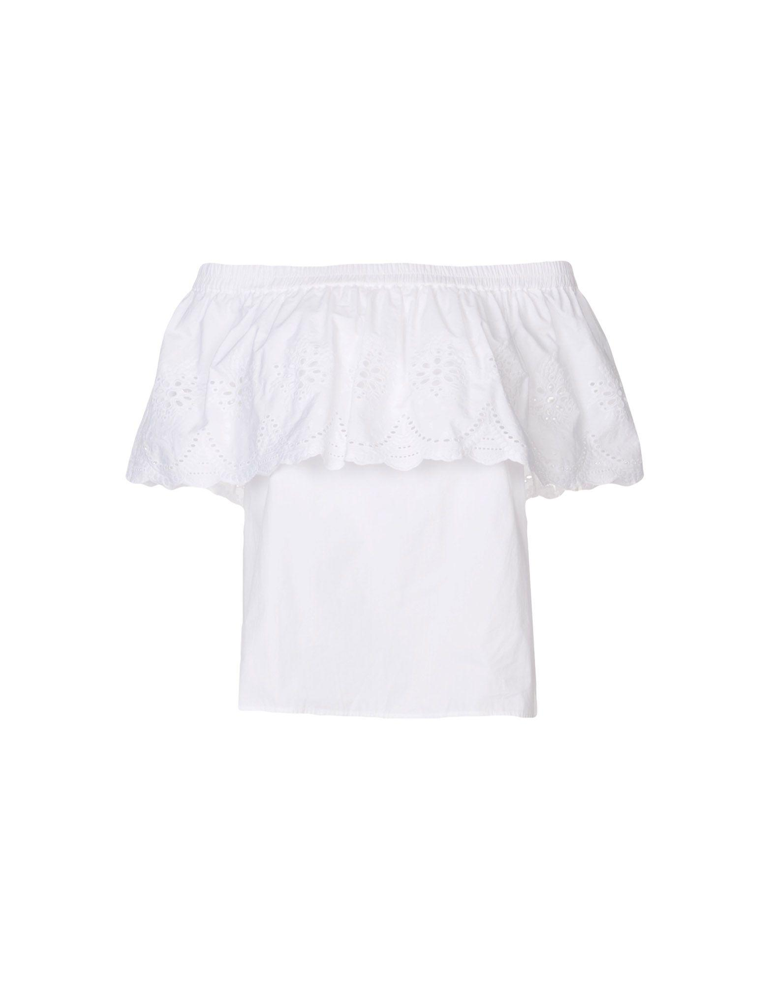 Draper James Blouse In White