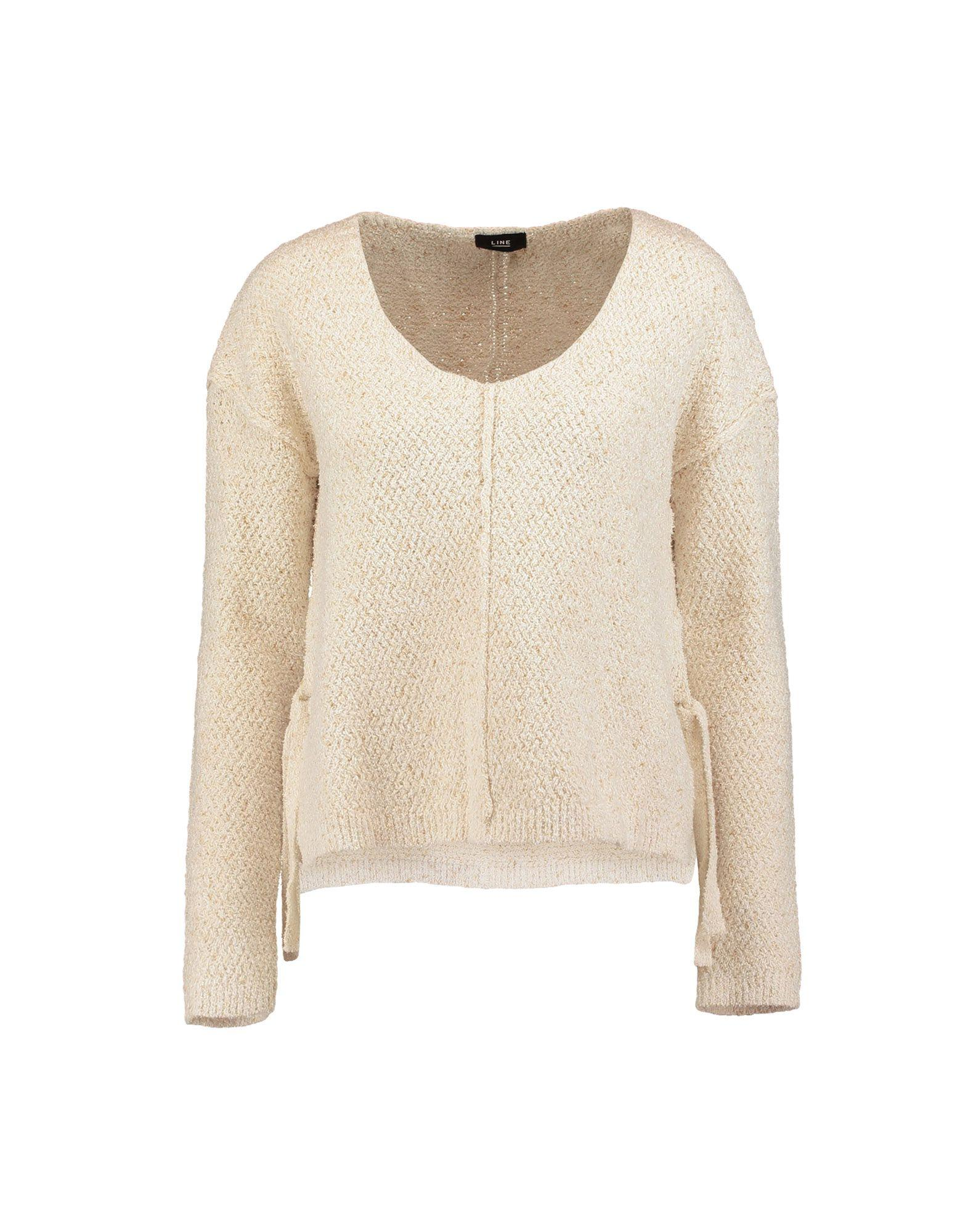 Line Sweater In Ivory