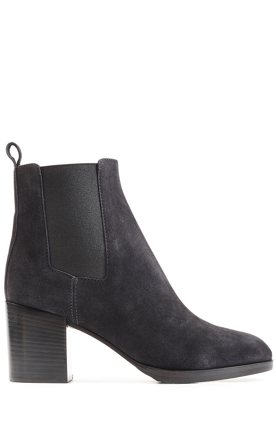 Sergio Rossi Suede Ankle Boots In Grey