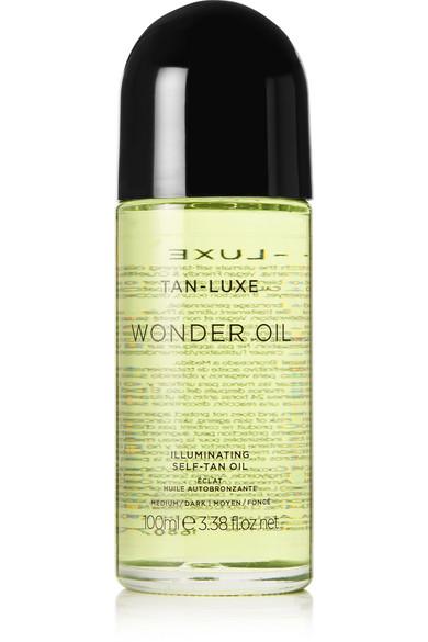 Tan-luxe Wonder Oil Medium/dark, 100ml In Colorless