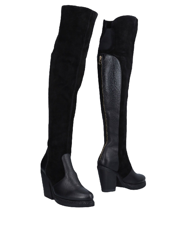 Purified Boots In Black