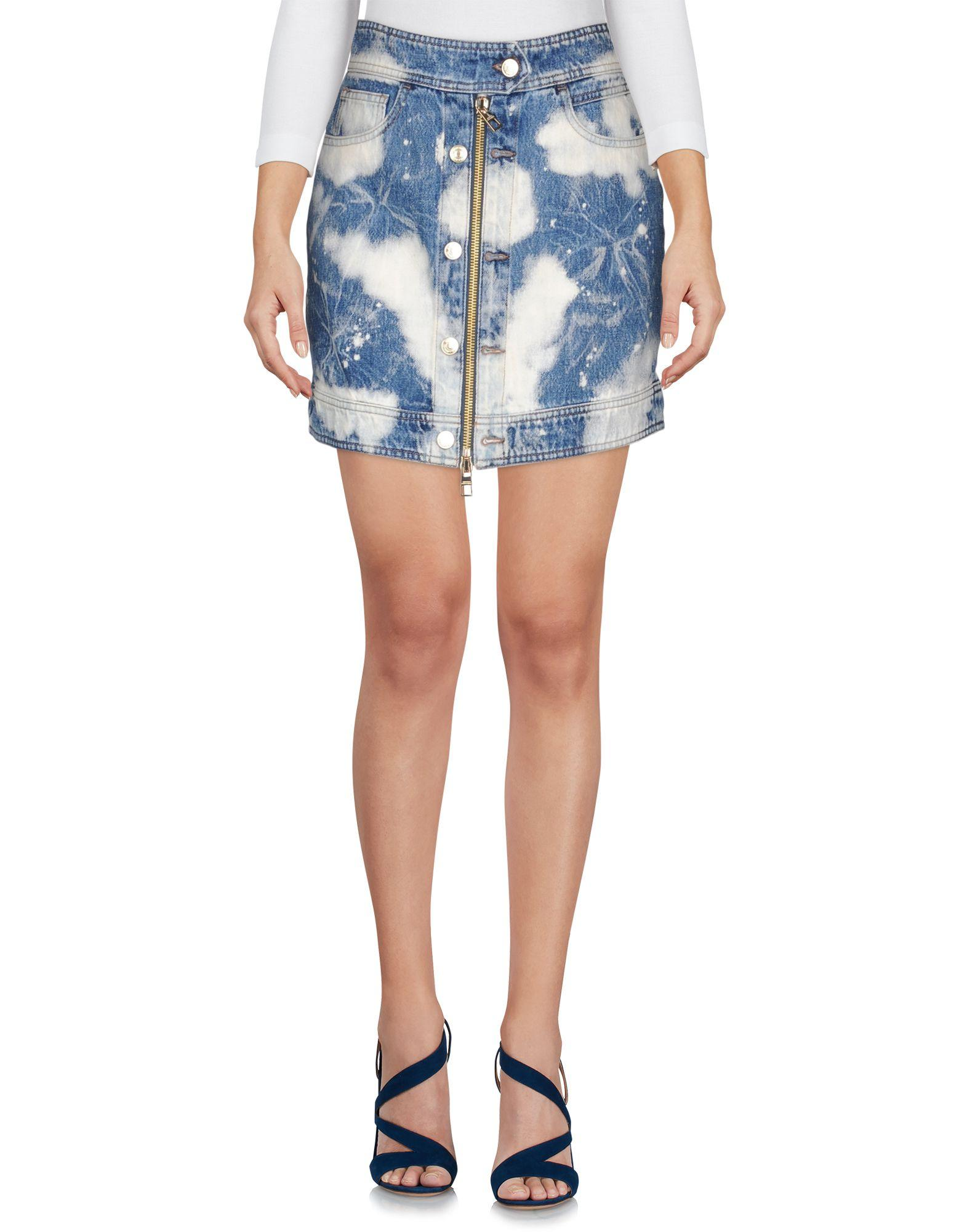 Tommy Hilfiger Denim Skirt In Blue