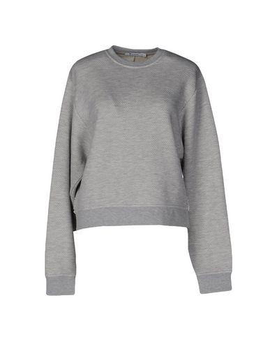 Alexander Wang T Sweatshirt In Light Grey
