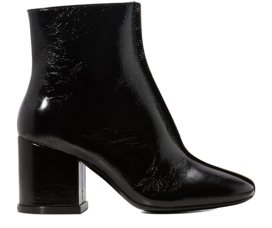 """Daria In Leather: Kenzo """"daria"""" Ankle Boots In Black Color Leather"""
