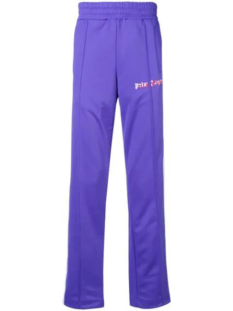 Palm Angels Purple Die Punk Track Pants