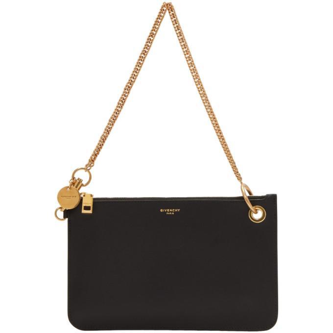 2bba05bd1 Givenchy Black Gv Shopper Pouch Chain Bag In 001 Black | ModeSens