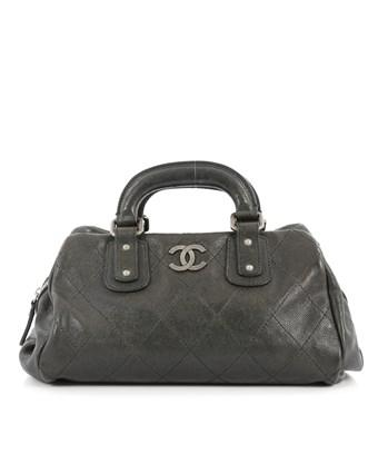 50929f73d20542 Chanel Pre-Owned: Outdoor Ligne Doctor Bag Quilted Caviar Small In ...