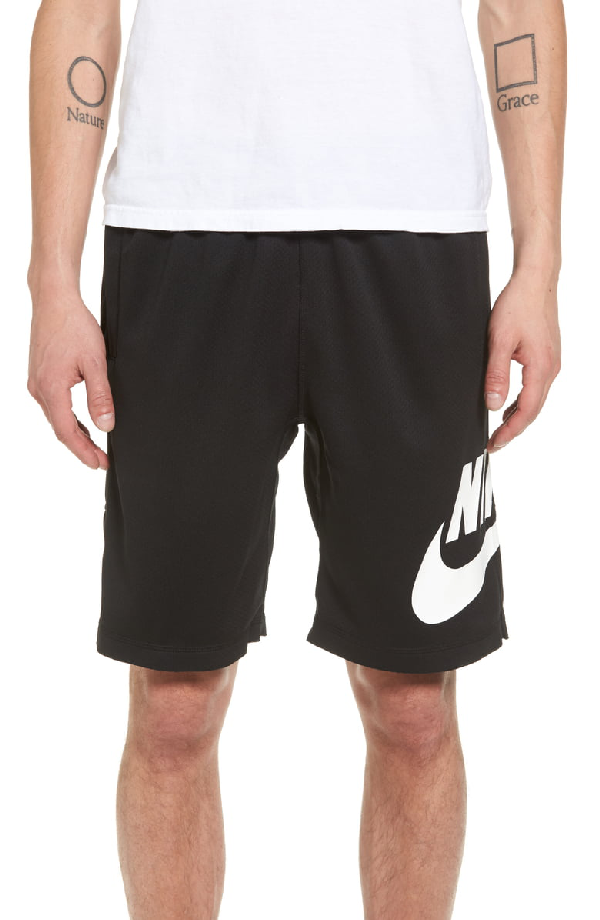 Nike Sunday Dri-fit Shorts In Black/ White