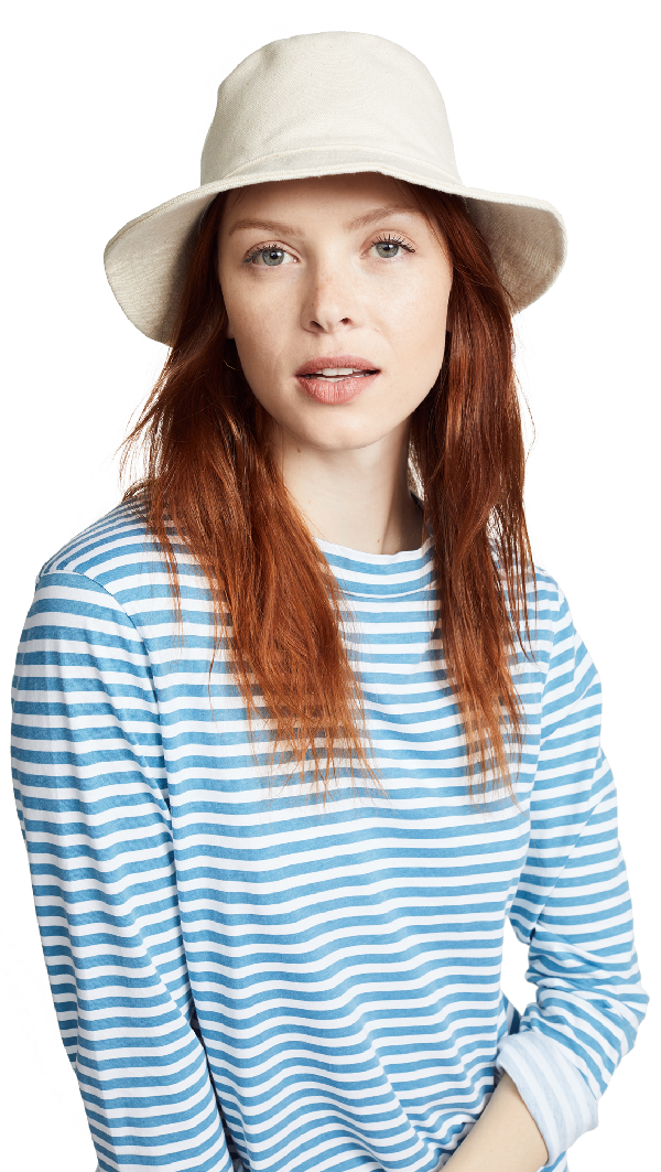 738e0061d91201 Madewell Short-Brimmed Canvas Bucket Hat | ModeSens