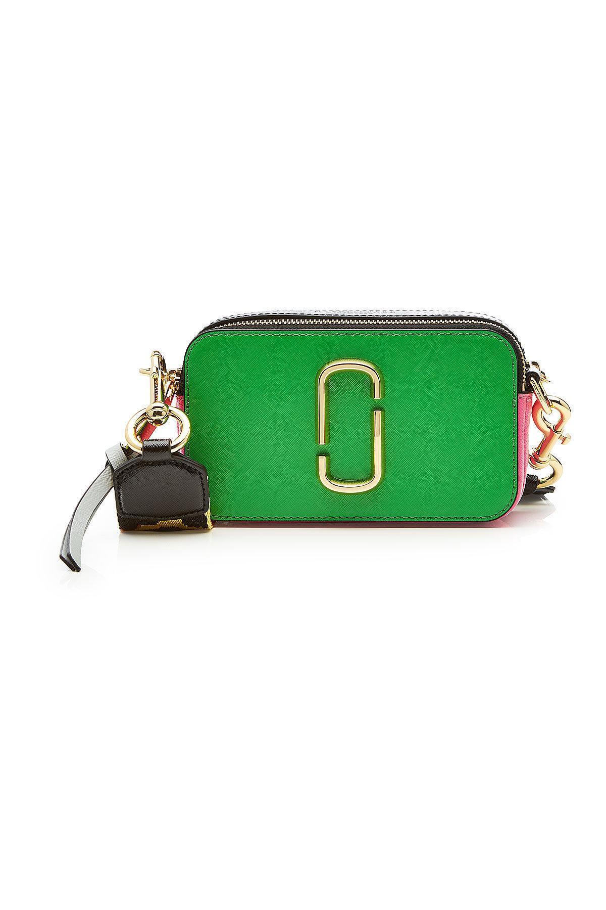 6c2ee29e5d8d Marc Jacobs Snapshot Leather Shoulder Bag In Multicolour