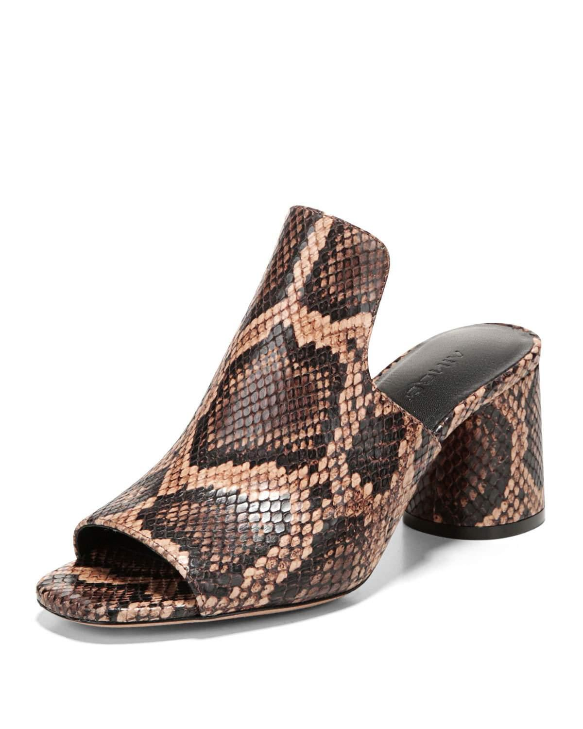 28702debc1d ... bring geometric counterpoint to the column heel of a tall loafer mule  styled for day-to-night versatility. Style Name  Vince Tanay Loafer Mule  (Women).