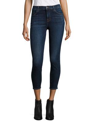 J Brand Alana Crop Skinny Jeans In Mesmeric